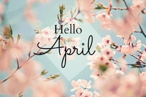 HELLO APRIL! CAN YOU BRING US SOME MORE SUNSHINE..?