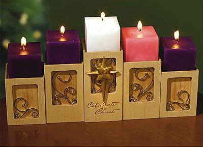 What I look forward to the most during Christmas. Lighting Advent candles and saying a prayer with my girls each Sunday.