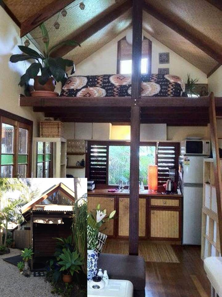 balinese style self contained fully furnished loft