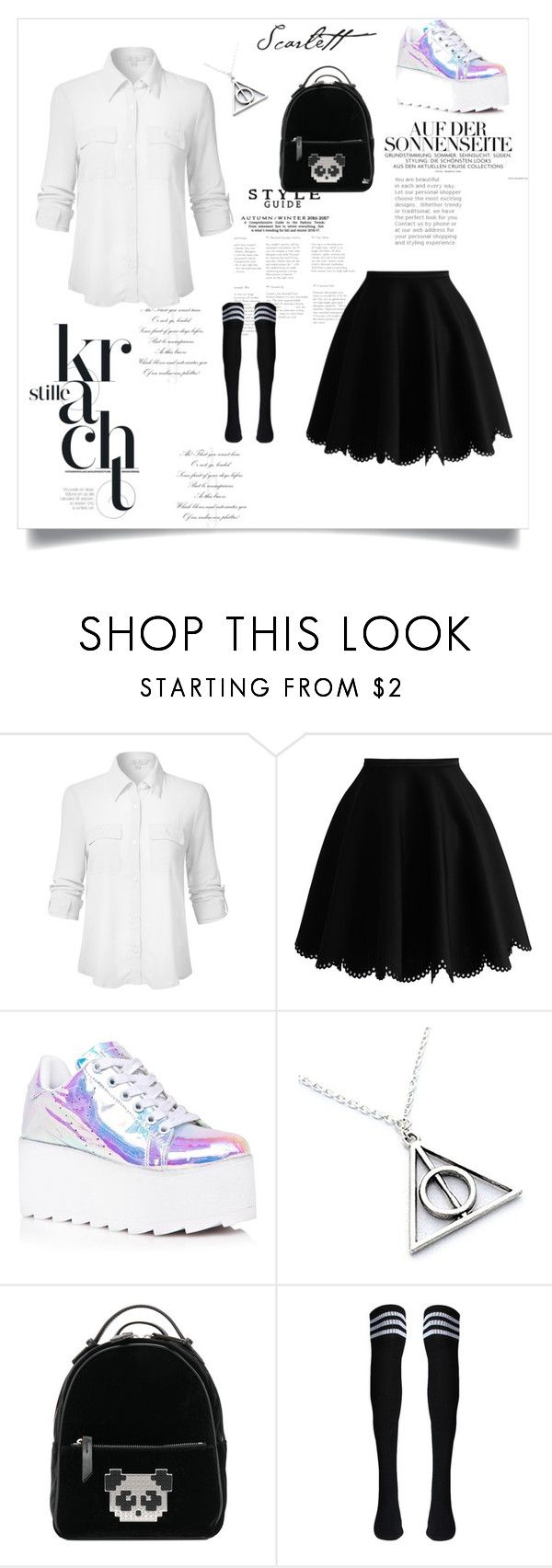 """чмс"" by ms-qwe on Polyvore featuring мода, Y.R.U. и Les Petits Joueurs"