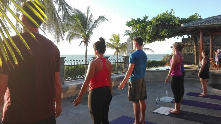 Private Sunset Yoga class at Casa Arrecife