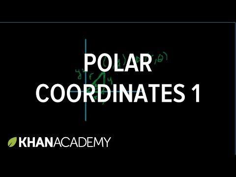 Polar coordinates 1 | Parametric equations and polar coordinates | Precalculus | Khan Academy - YouTube