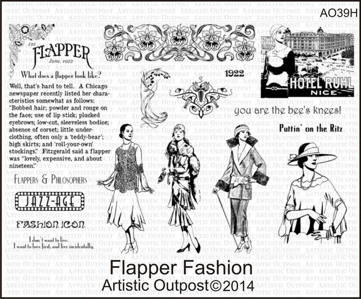 Artistic Outpost Flapper Fashion