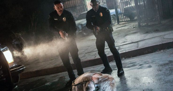 Bright Sneak Peek Introduces Will Smith's Fairy Tale Cop -- Meet Ward and Jakoby in a fantastical look at Netflix's upcoming fantasy crime thriller Bright, streaming this December. -- http://movieweb.com/bright-movie-2017-video-preview-netflix/