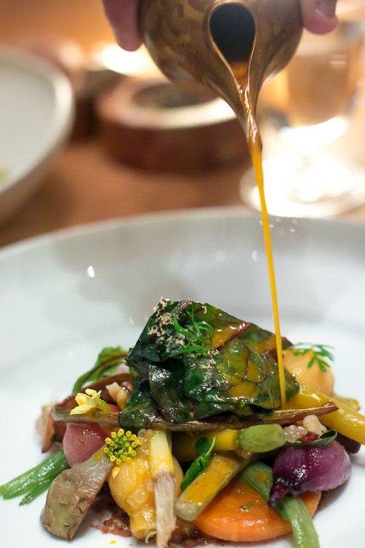Alain Ducasse Restaurant at the Plaza Athenée in #Paris   davidlebovitz.com