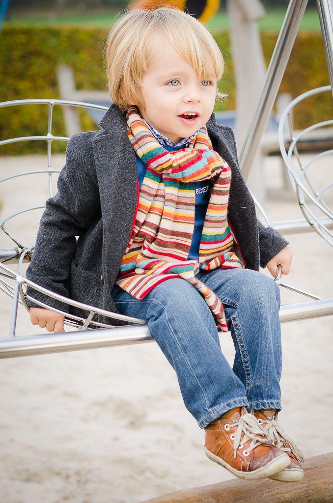 Kinderen - speeltuin- herfst -portret - fotografie (Kids - photography)
