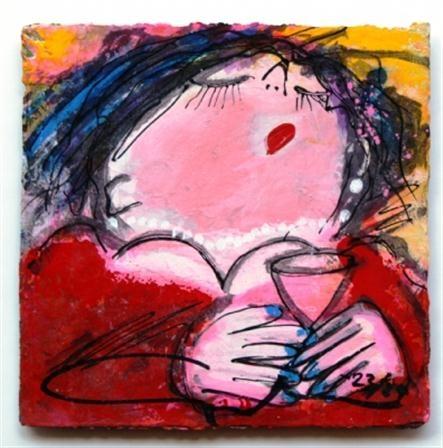 Gerdine Duijsens - schilderijen en zeefdrukken - te koop en te huur