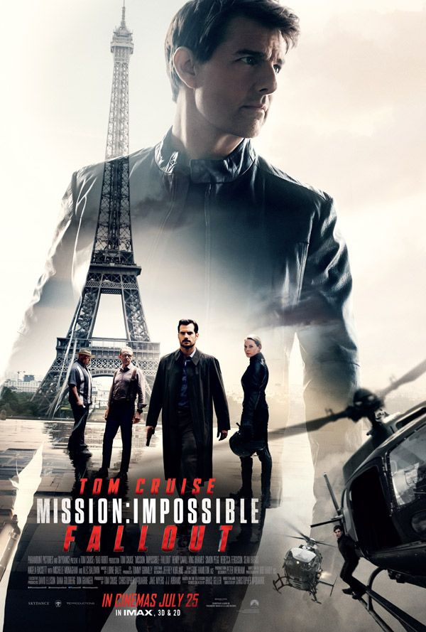Saw This As Has Everyone Else On The Planet And For Good Reason It Confirms Cruise As Our Genera Fallout Movie Mission Impossible Fallout Mission Impossible