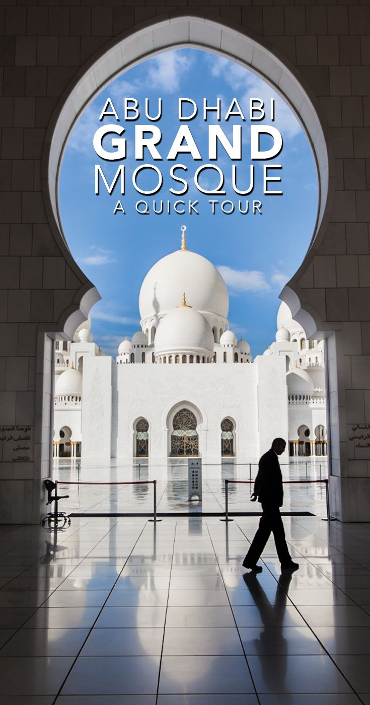 Grand Mosque Abu Dhabi Tour and Stopover Information