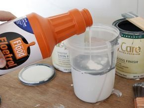 Floetrol can be used to extend drying time for paint so that brush strokes disappear and it can acclimate to climate.