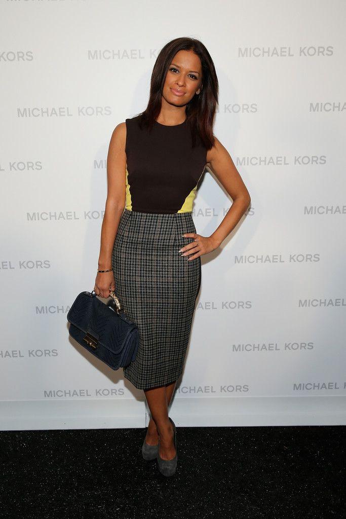 Michael Kors dresses 2014 | rocsi-diaz-michael-kors-spring-2014-fashion-show-victoria-beckham-wool ...