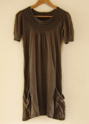 Kup mój przedmiot na #vintedpl http://www.vinted.pl/damska-odziez/krotkie-sukienki/8979450-sweterkowa-sukienka-ca
