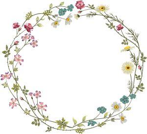 Colourful Flower Frame