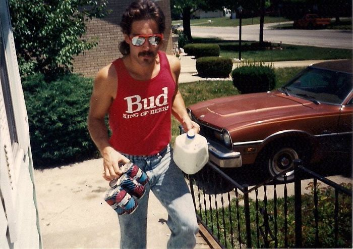 My Step-Dad Is Convinced He Was The Coolest Guy In The 80's