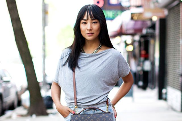 Greta Lee Is Trying Really Hard to Look Like She's Not Trying