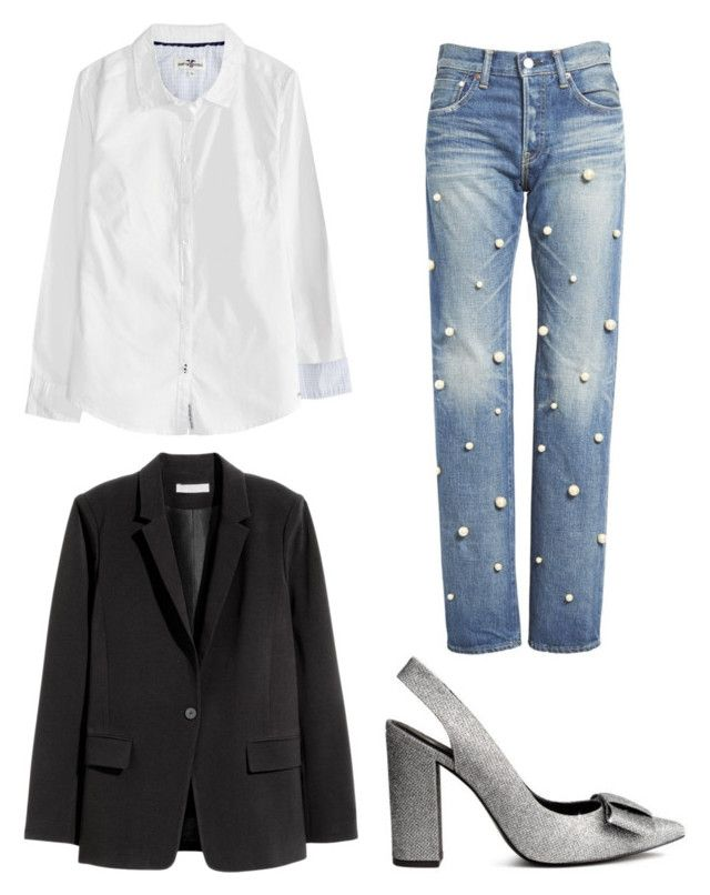"""Untitled #204"" by stinasolheim on Polyvore featuring H&M and Tu Es Mon Trésor"