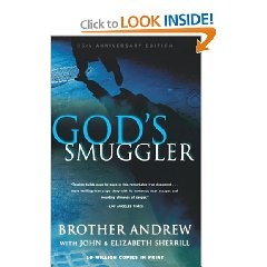 """Incredibly inspiring and intriguing: """"The bestseller tells of the young Dutch factory worker's incredible efforts to transport Bibles across closed borders--and the miraculous ways in which God provided for him every step of the way."""""""