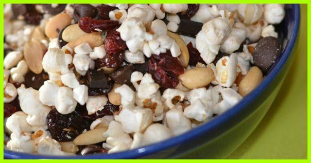 POPCORN TRAIL MIX SmartPoints value : 6 -  weight watchers recipes