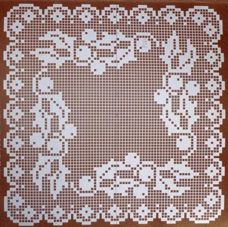 Rendas Em Crochet