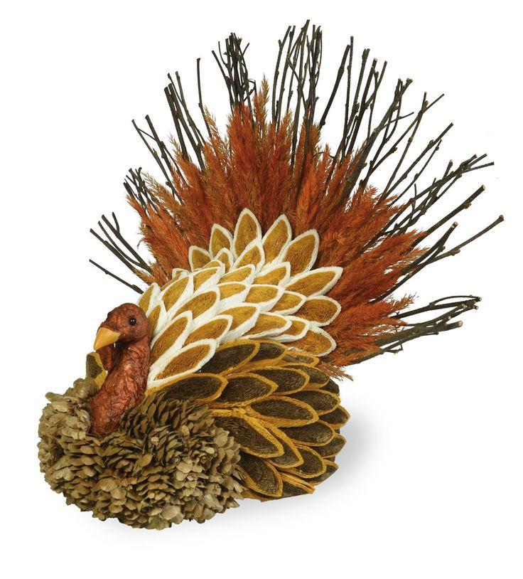 Decorative Thanksgiving Tom Turkey