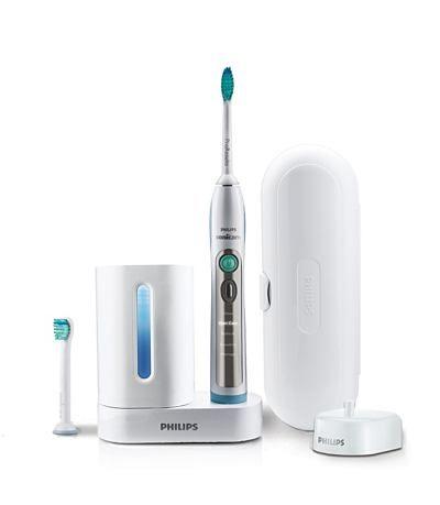 Innowacyjna szczoteczka soniczna do zębów Philips Sonicare FlexCare+.  http://spadental.pl/szczoteczka-elektryczna-philips-sonicare-flex-care-plus-z-uv-513