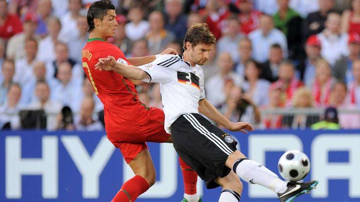 Im EM-Viertelfinale 2008 ließ Arne Friedrich sogar Cristiano Ronaldo alt aussehen