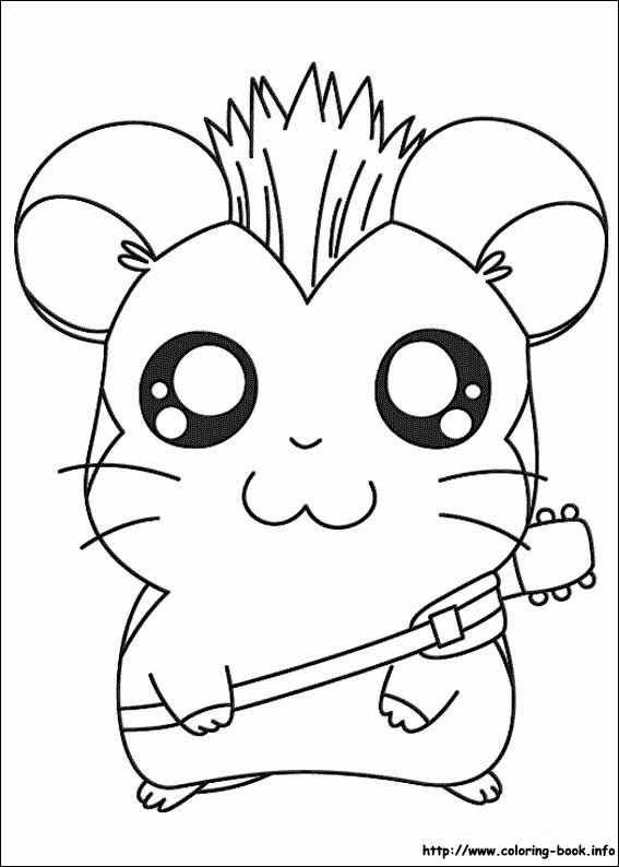 90 best Hamtaro images on Pinterest | Hamtaro, Coloring books and ...
