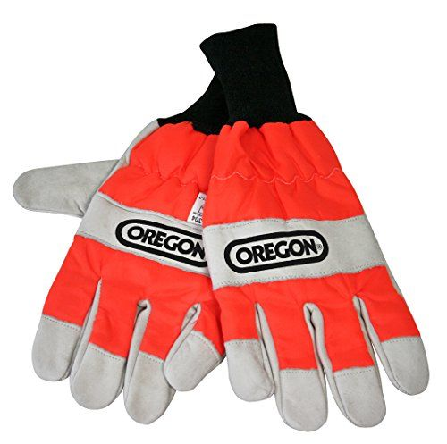 From 12.95 Oregon 91305xl Chainsaw Protective Gloves For Left Hand Protection