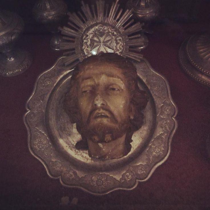 John the Baptist's head on a platter at the Museu Regional de Beja, Portugal