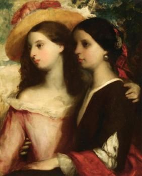Friends - William Etty - (English: 1787 - 1849)