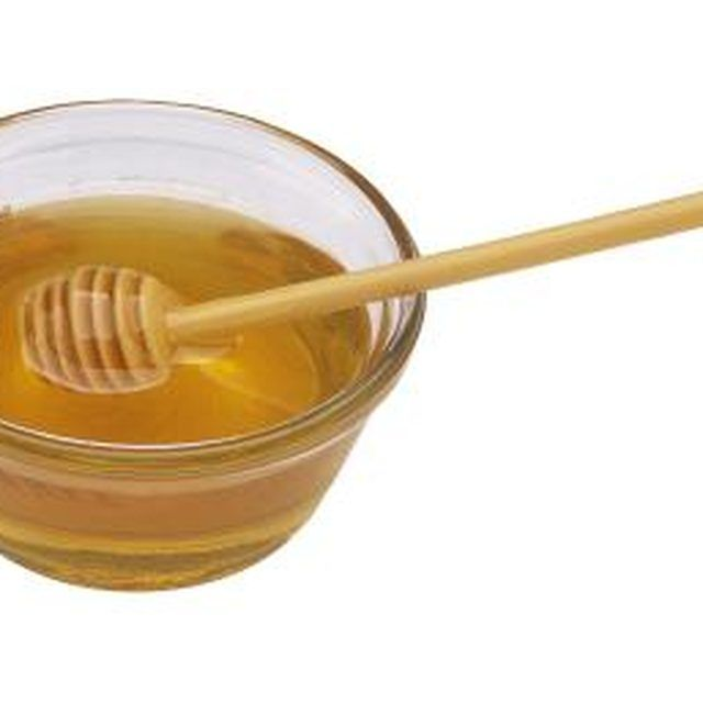 Honey tastes sweet and is a natural way to lighten your hair.