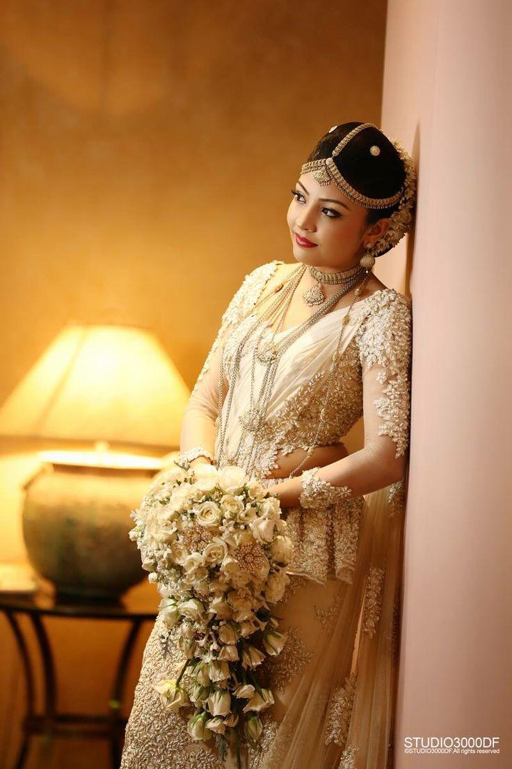 How To Do Kandyan Bridal Makeup : 1000+ images about Wedding - Kandyan Bride on Pinterest ...
