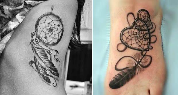 Tatuajes de atrapasueños para mujeres, que simbolizan?