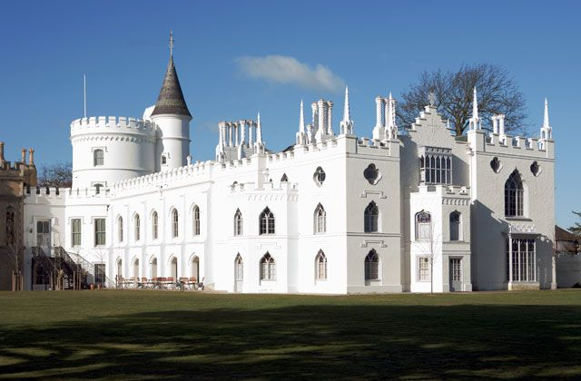 Picture of #Strawberry Hill House - Britain's finest examples of Georgian Gothic Revival architecture - #London