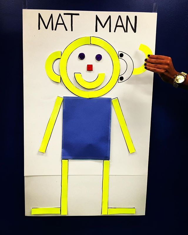Mat Man helps children learn how to draw a person and develop body awareness…