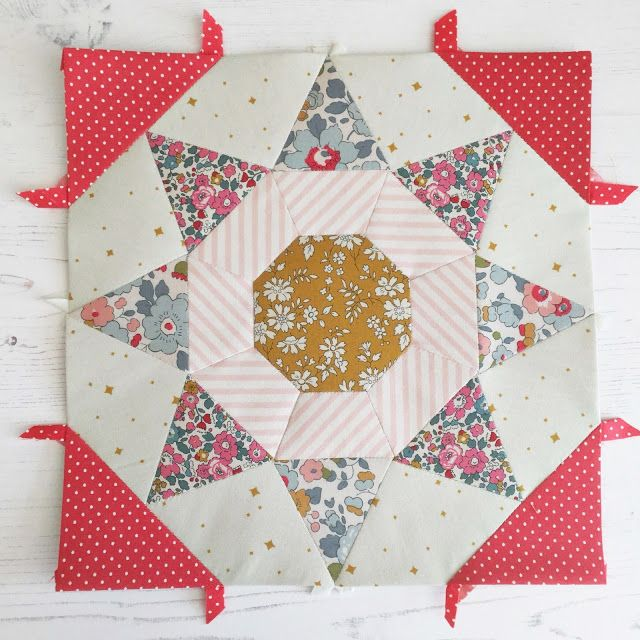 An acrylic toadstool template appliqué//sewing//quilting//paper