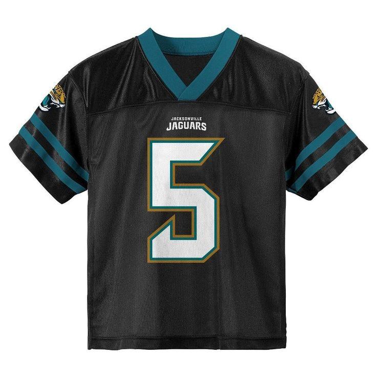 Jacksonville Jaguars Toddler Boys' Blake Bortles Jersey - Team Color 4T, Toddler Boy's, Multicolored