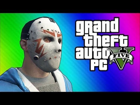 GTA 5 PC Online Funny Moments - Action Replay, Slow Motion, Highway Stunt! - YouTube