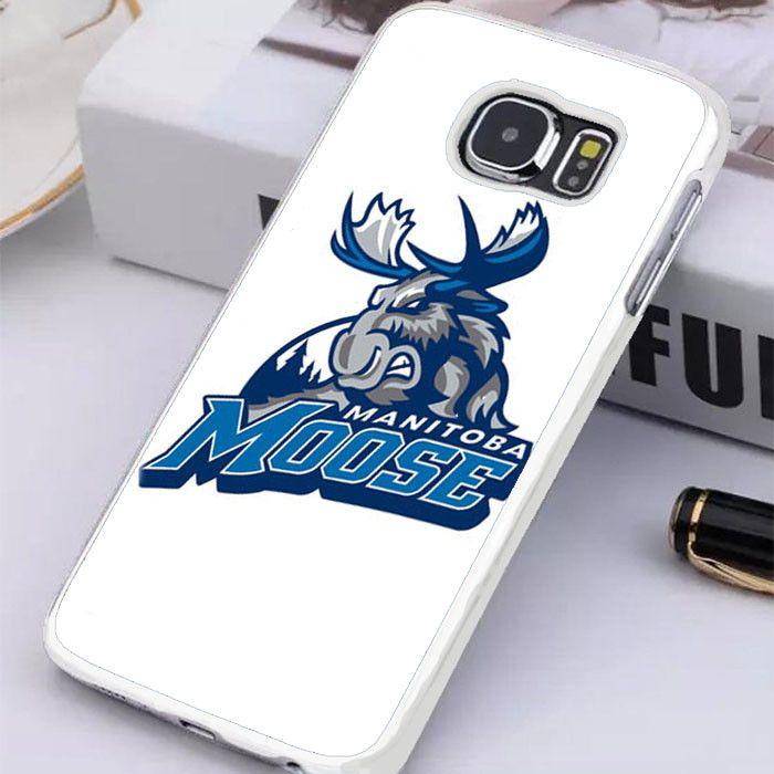 Manitoba Moose Logo Samsung Galaxy S7 Edge Case