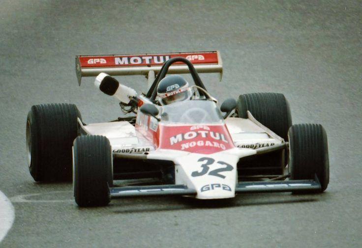Richard Dallest - AGS JH17 BMW/Mader - Écurie Motul GPA - XL Grand Prix de Pau 1980 - https://www.facebook.com/groups/grandprixdepaulafuitedanslebois/ Photo DPPI