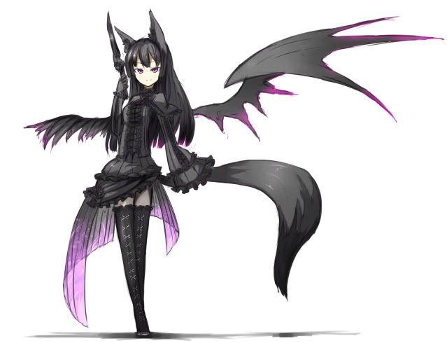 Anime sexy Wolf Girl | Anime Wolf Demon girl photo ...