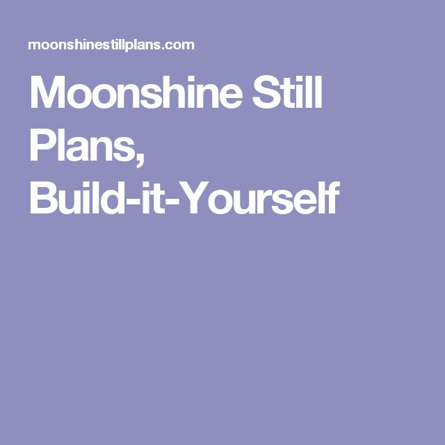 how to make moonshine pdf