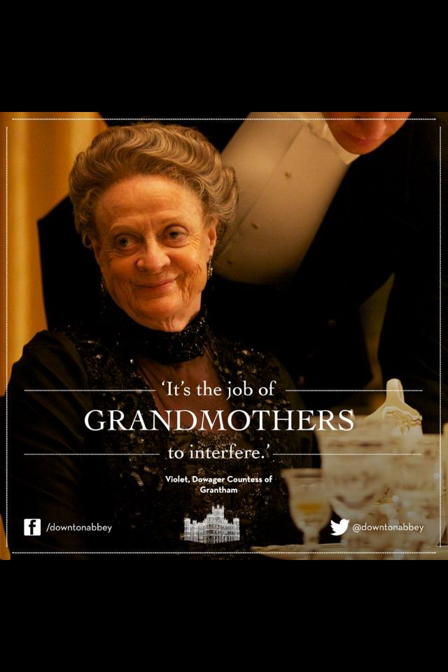 #DowntonAbbey Dowager Countess
