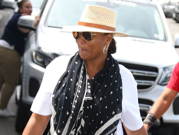Queen Latifah's Car Stolen At Atlanta Gas Station (VIDEO) -