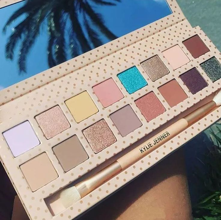 New Take Me On VACATION 16 Colors Pressed Powder Eyeshadow Palette With Brush #Unbranded