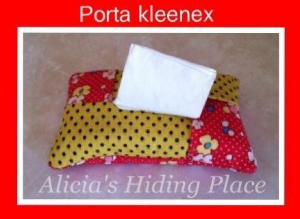Alicia's hiding place: Estuche para pañuelos desechables - Porta Kleenex