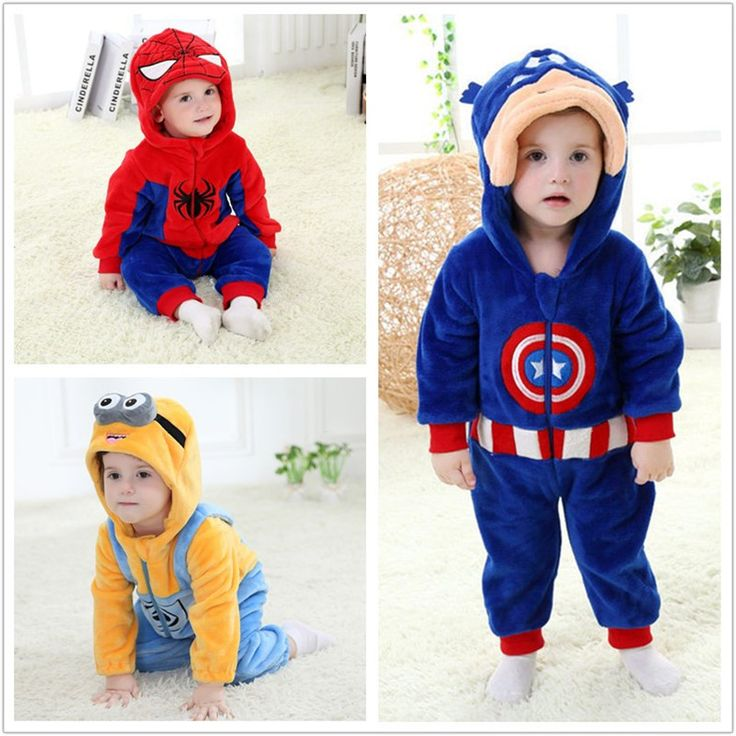 Baby Kids Cartoon Rompers Cute Warm Jumpsuit Autumn Pajamas Children Clothing Newborn Baby Boy Girl Clothes Jumpsuits Costume //Price: $35.30 & FREE Shipping //     #hashtag1