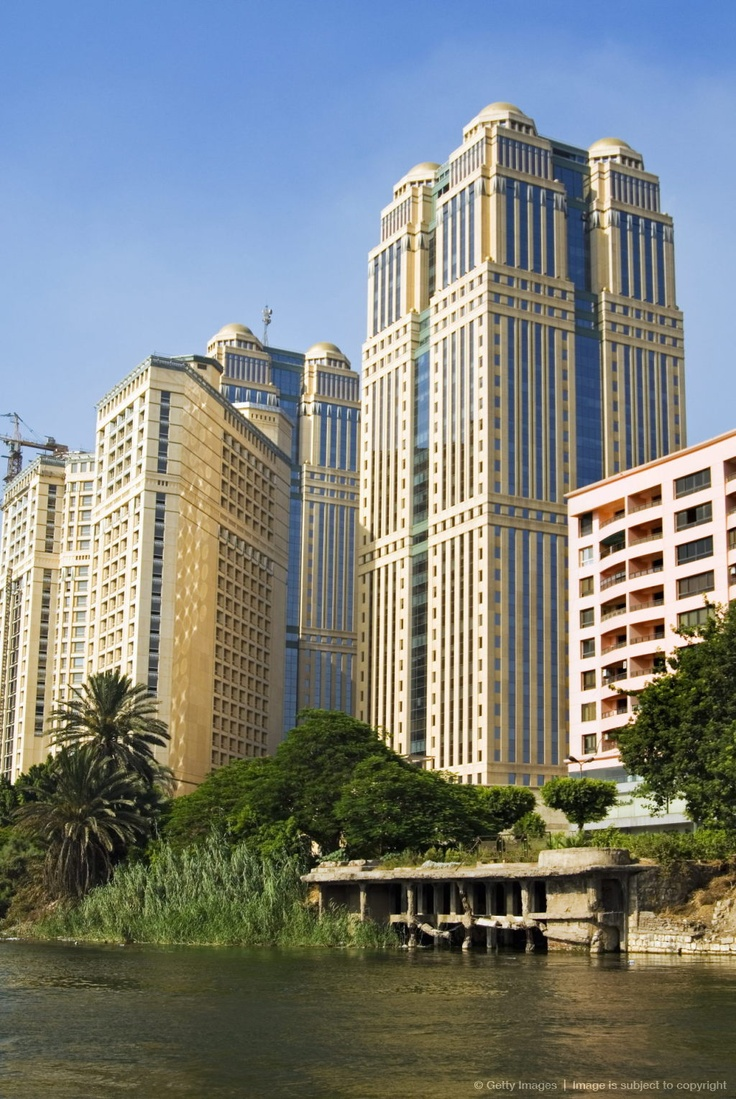 Nile Towers, Cairo, Egypt