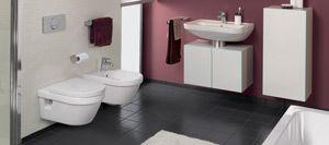 Combi-Pack zestaw miska WC z deską wolnoopadającą Villeroy & Boch Architectura 5684 HR 01 - Lazienkaplus.pl
