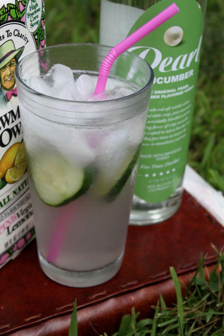 Cool Hand Cuke: Cucumber vodka, Newman's lemonade and seltzer. Refreshing summer drink